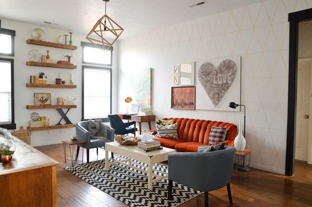 Vintage Home Decor living room