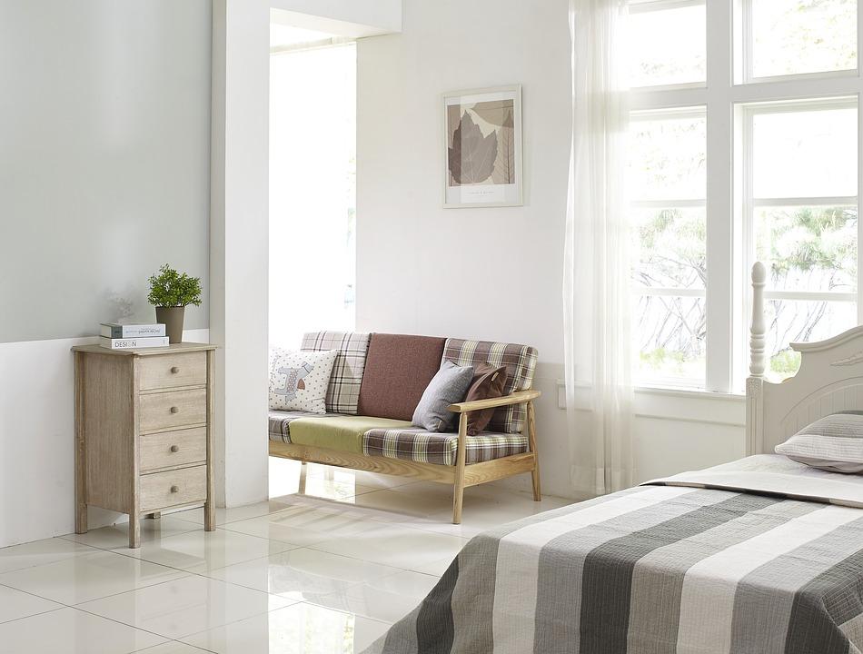 Bedroom of Your Dreams sofa in room