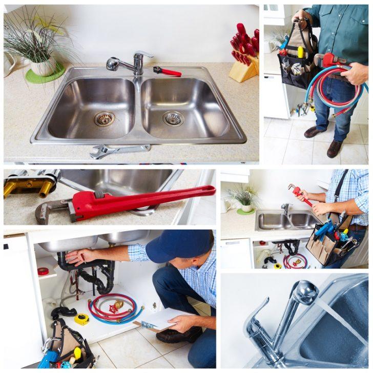 Registered Plumber tough job on sink