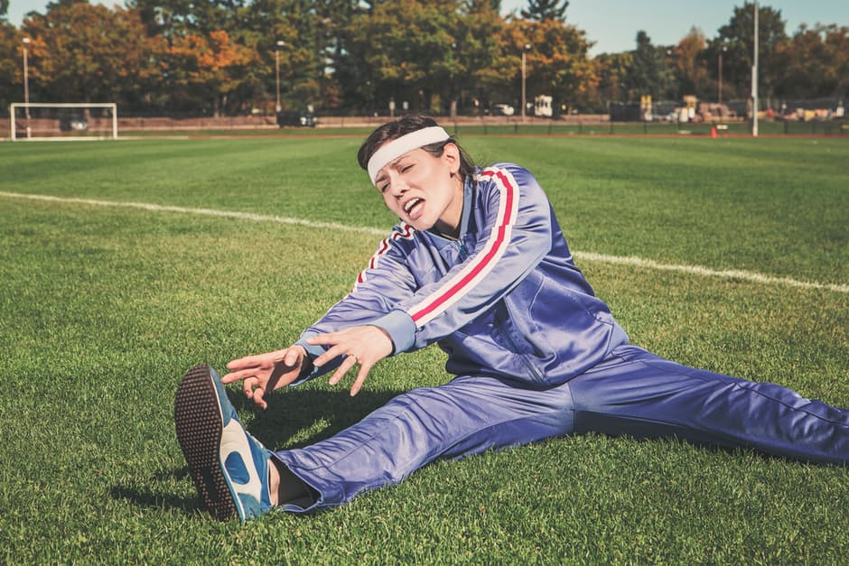 Getting Fit Fast is Not a Good Idea stretching