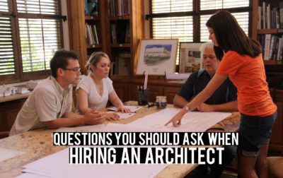 Hiring an Architect questions to ask yourself