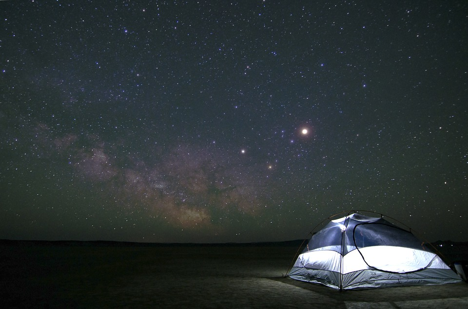 How to Camp and Actually Enjoy It under the stars
