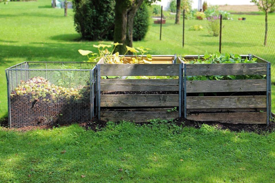Organic Garden outdoor compost