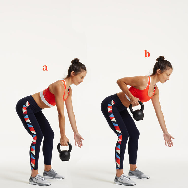 Kettlebell Workouts back pull