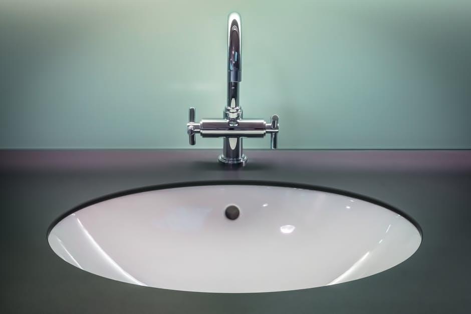 Bathroom DIY faucet and sink