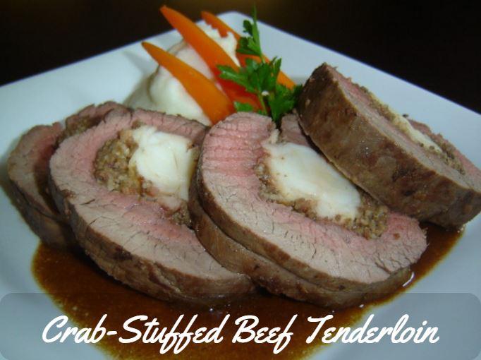 Crab-Stuffed Beef Tenderloin Recipe
