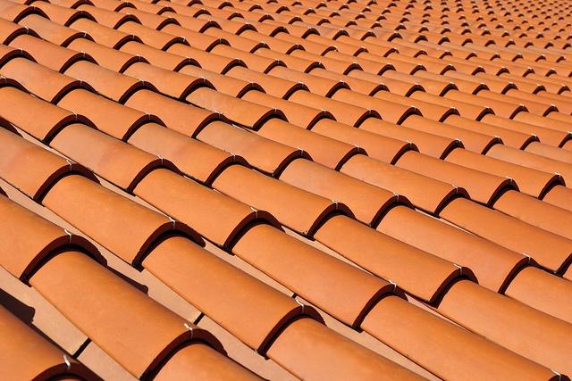 roof tile tin metal home