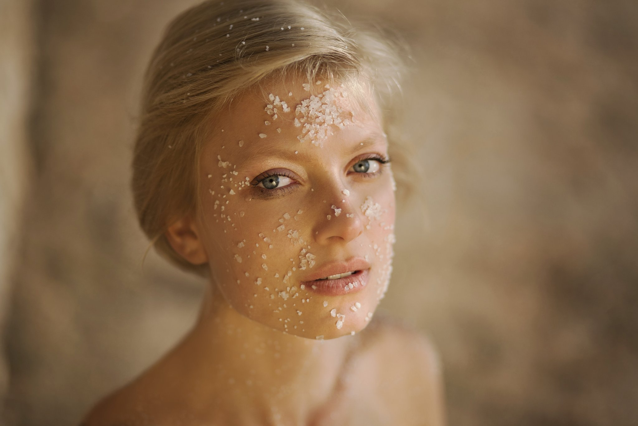 Skin Care Tips woman blond hair