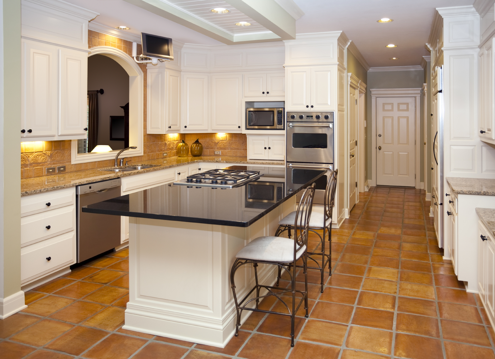 Home Decor wood floor kitchen