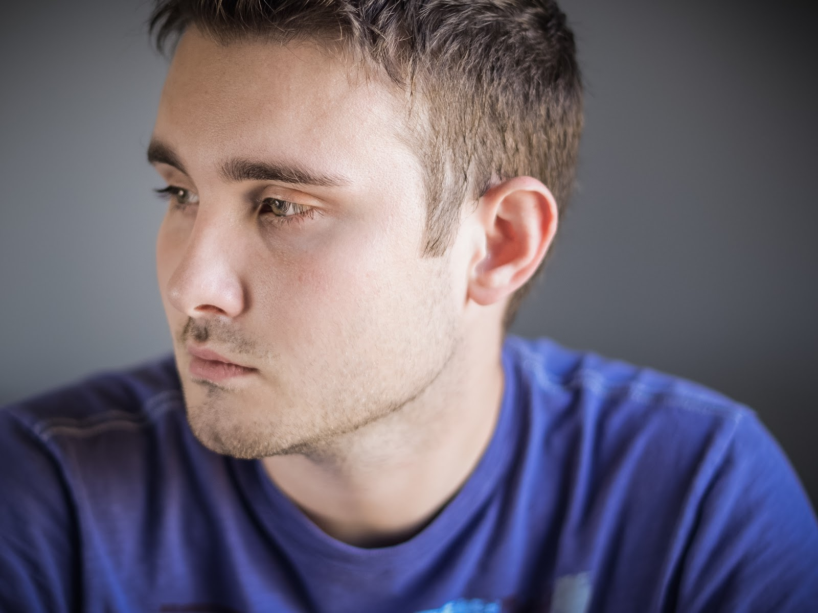 Health Conditions depressed man
