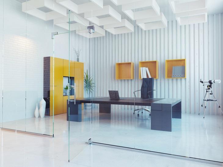 Office Furniture nice flat wood desk