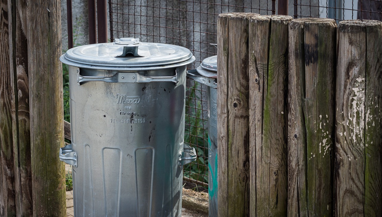 Pest Proof Your Home trash can