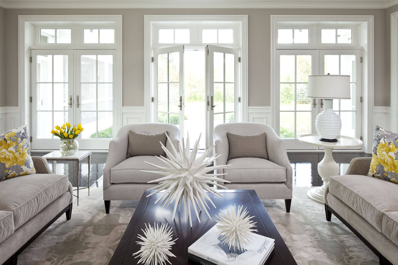 Home Decor white light living area