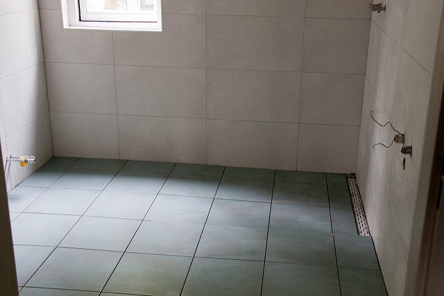 DIY Projects empty room tile