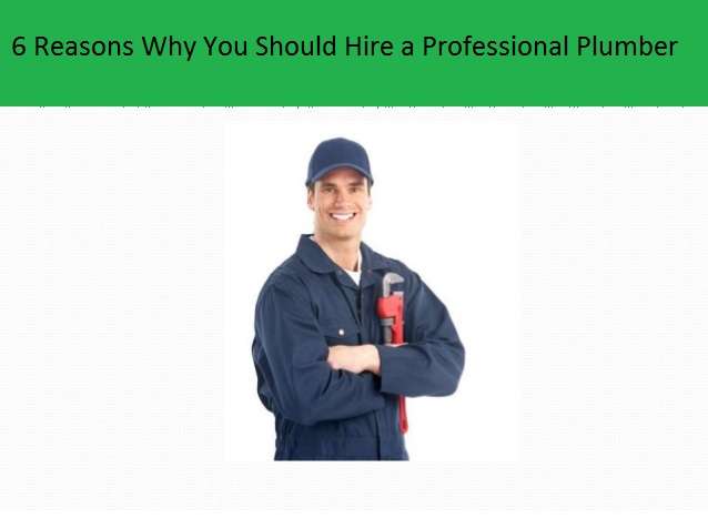 Professional Plumber for Installing a Water Heater