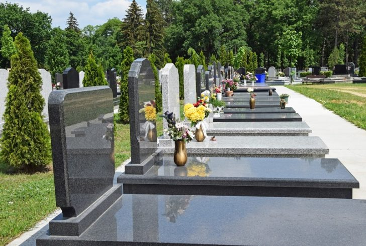 Granite Monuments flowers and preservations