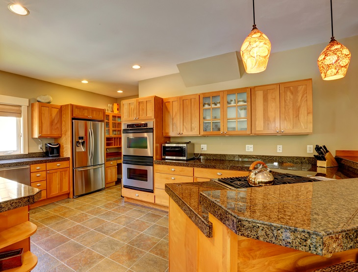 Cabinet Doors wood and tan kitchen