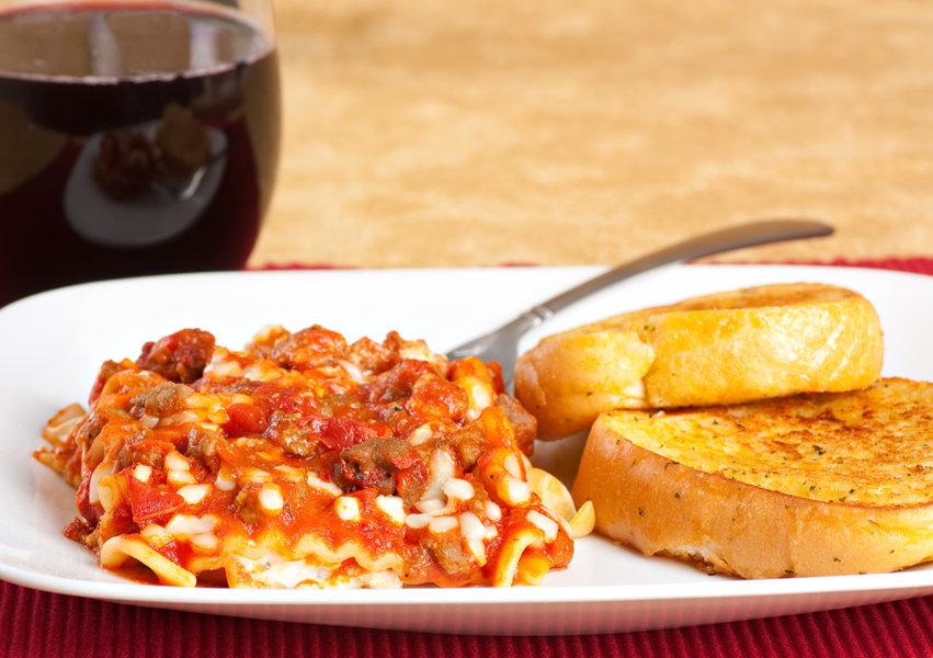 Slow Cooker Recipes lasagna toast