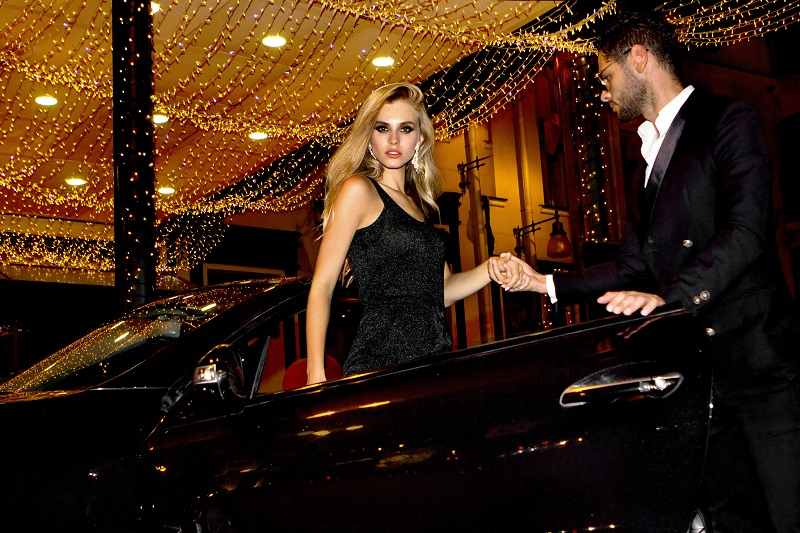 personal chauffeur prom night girl from car