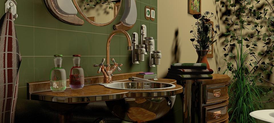 Bathroom Design Ideas faucet and sink