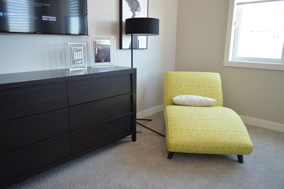 small room chair and matching light