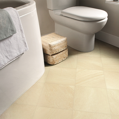 stone flooring sandstone bathroom