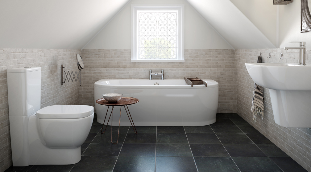 stone flooring slate bathroom