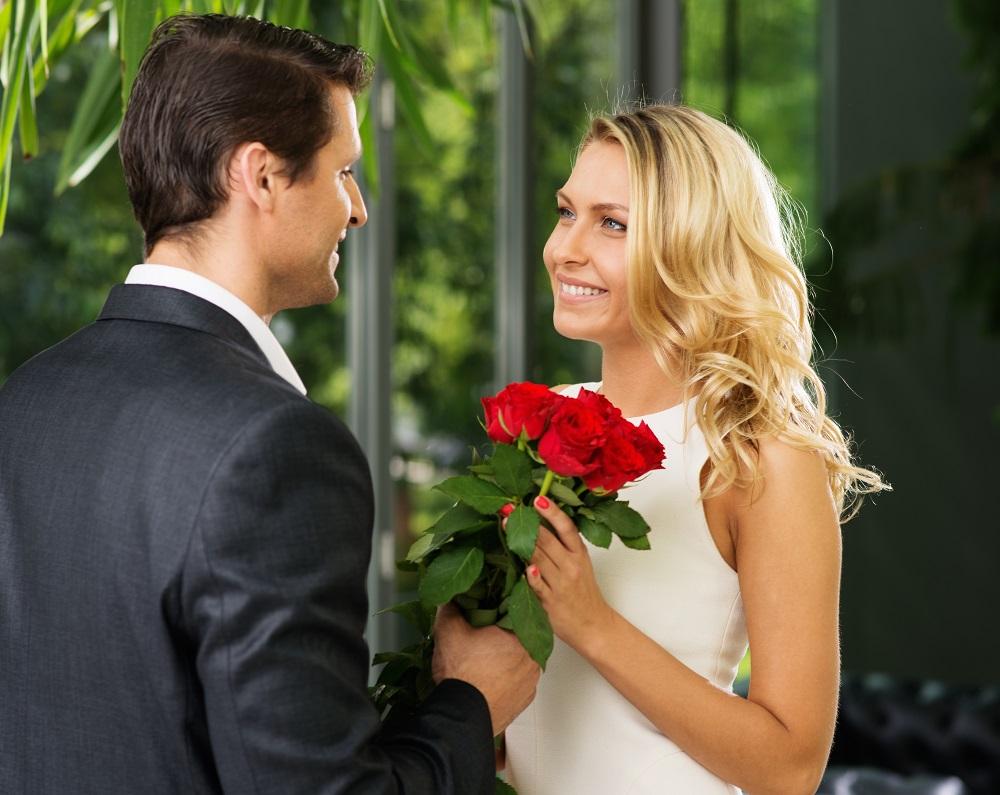 Wedding bride and groom flowers