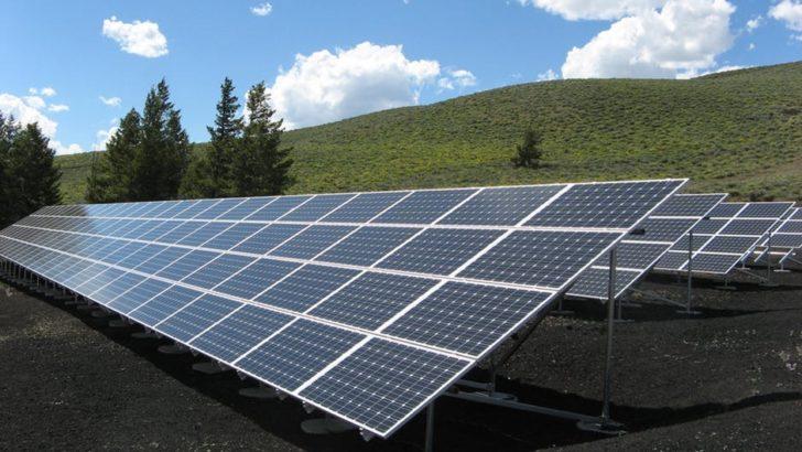 solar panels light energy