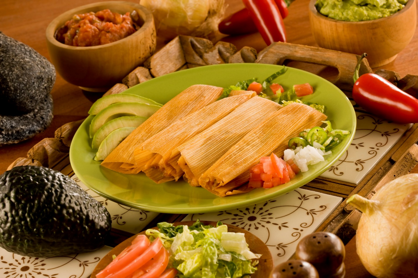 pork tamales that are homemade and ready to eat