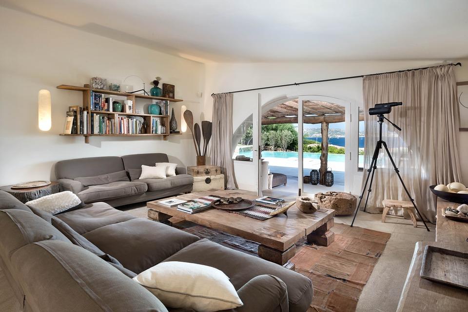 Summer Decor living room lighting