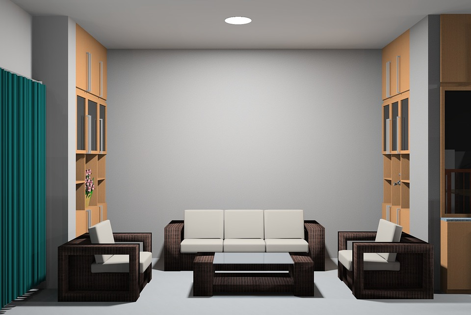 home couch space under can lighting