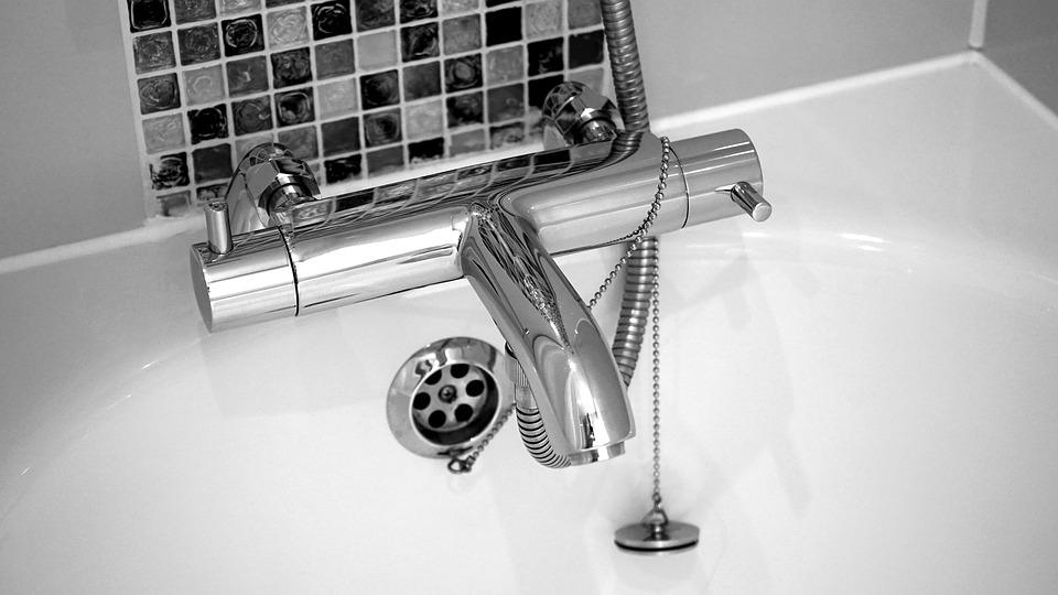 Clean Your Bathroom bath tub faucet