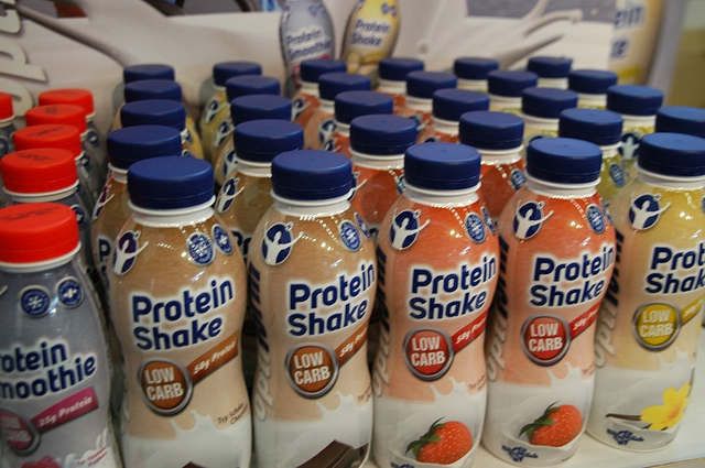 protein shakes in morning for toning