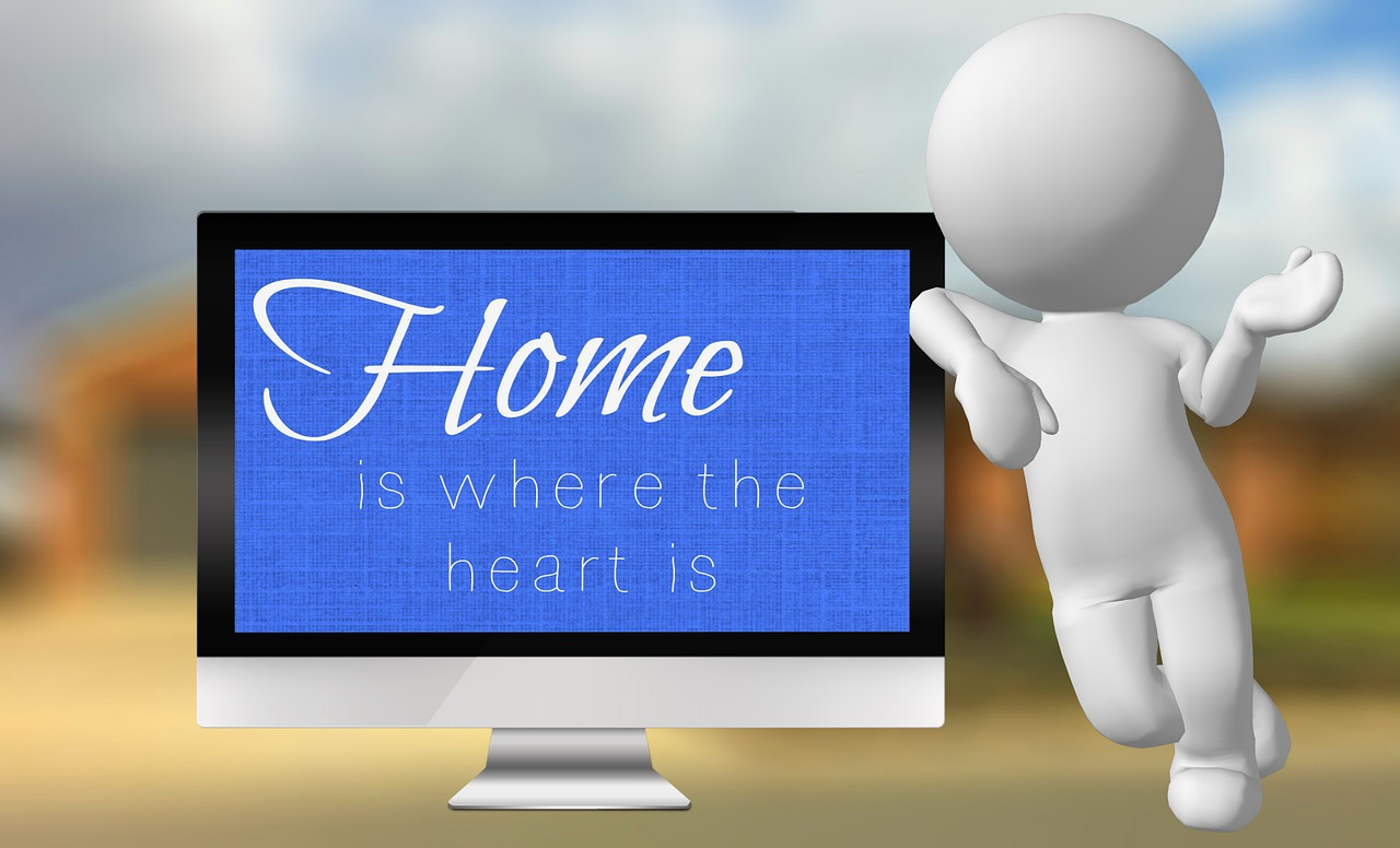 home is where the heart is screen