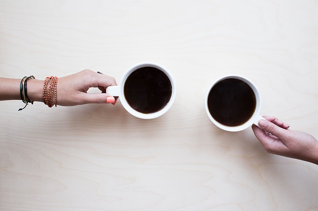 coffee cups shared after illness
