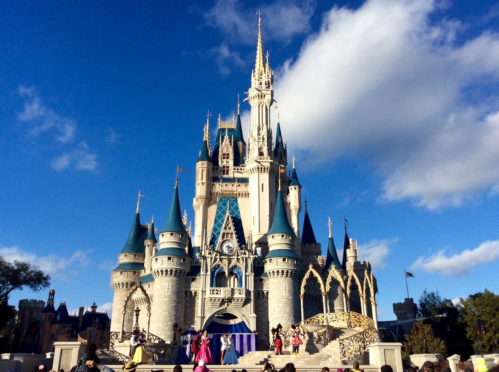 florida tour disney world castle