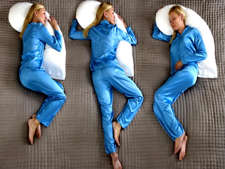 sleeping positions on New Mattress