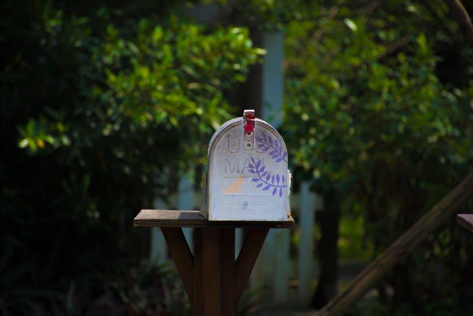 Beautiful Home mailbox outside