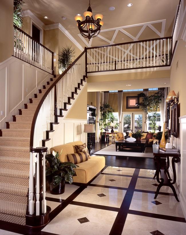 lobby to upper floor nice stairs