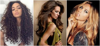 model side shot big hair