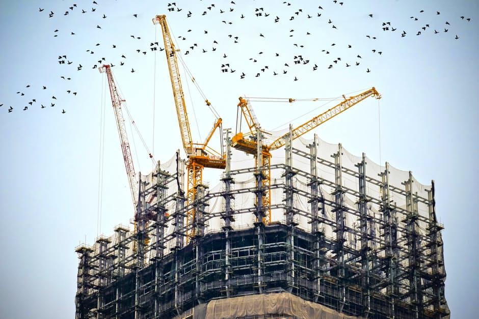 crane building home