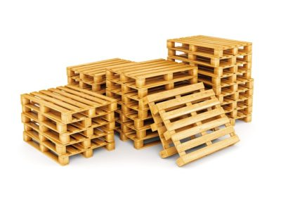 Custom Pallets wood stacks