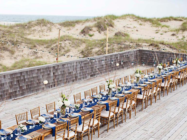 Wedding nautical beach theme