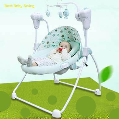 potable baby swing with frame