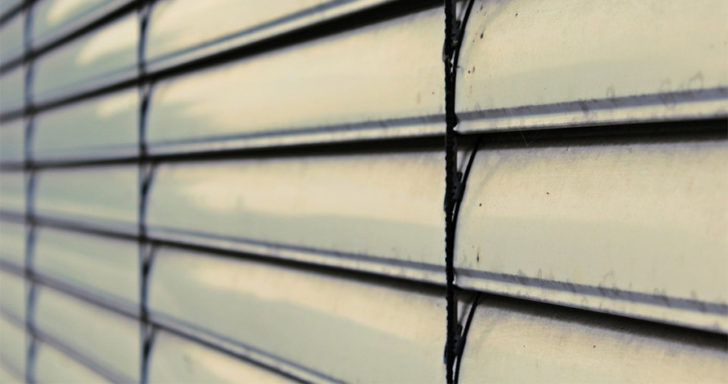 Venetian Blinds up close