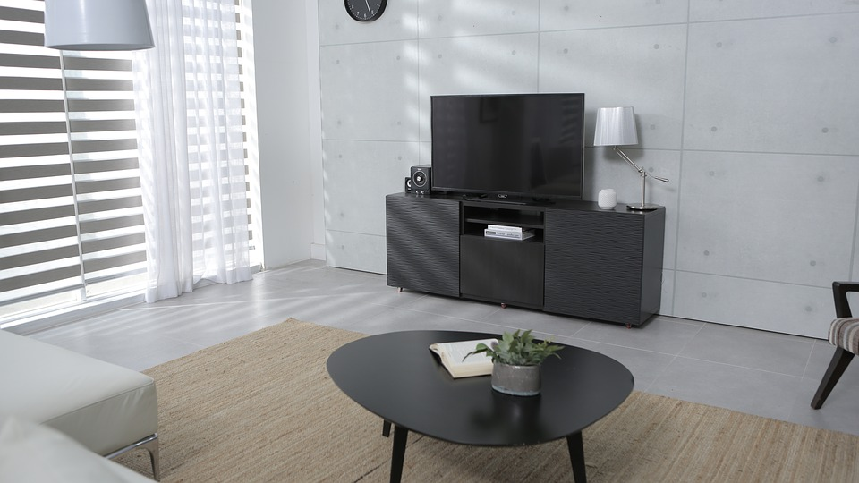 Living Room tv stand and coffee table