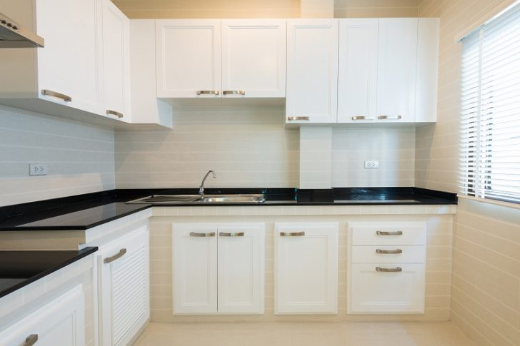 Two Pack Cabinets white kitchen