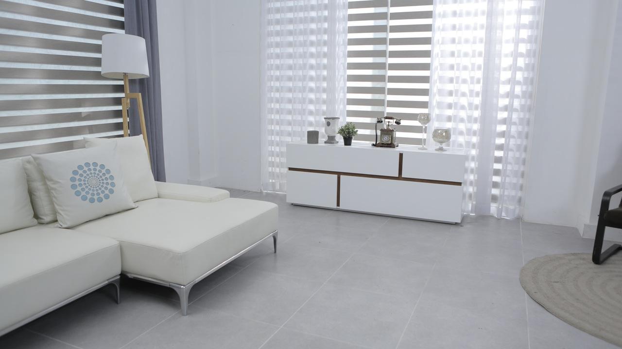 home white furniture and carpet