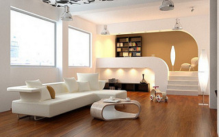 Home character living room